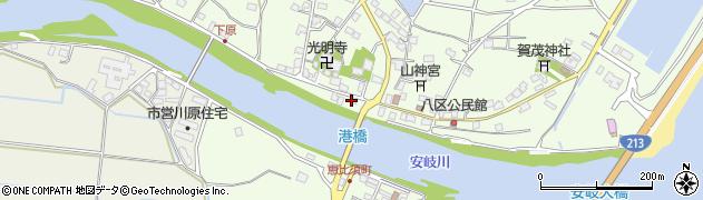大分県国東市安岐町下原2500周辺の地図