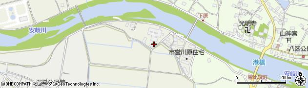 大分県国東市安岐町馬場892周辺の地図