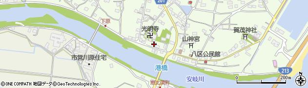 大分県国東市安岐町下原2510周辺の地図