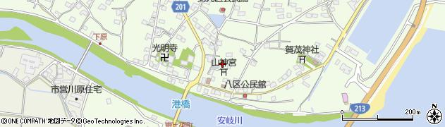 大分県国東市安岐町下原2454周辺の地図
