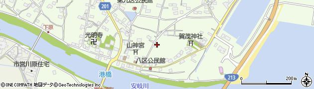 大分県国東市安岐町下原2427周辺の地図