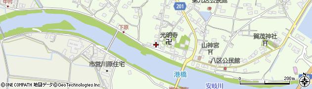 大分県国東市安岐町下原2662周辺の地図