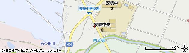 大分県国東市安岐町中園382周辺の地図