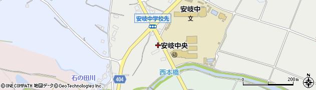 大分県国東市安岐町中園384周辺の地図