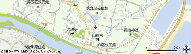 大分県国東市安岐町下原2373周辺の地図