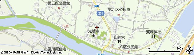 大分県国東市安岐町下原2520周辺の地図