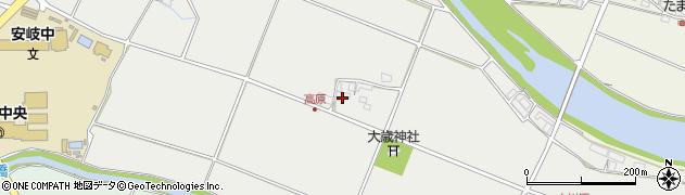 大分県国東市安岐町中園756周辺の地図