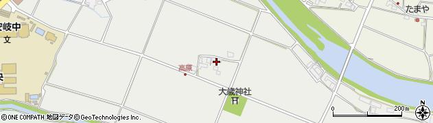 大分県国東市安岐町中園758周辺の地図