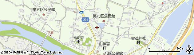 大分県国東市安岐町下原2355周辺の地図