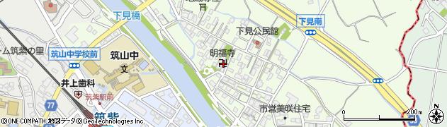明福寺周辺の地図