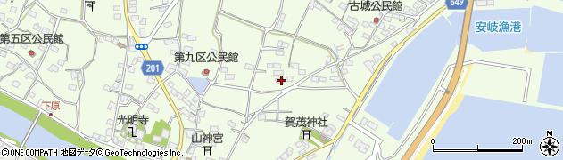 大分県国東市安岐町下原2285周辺の地図