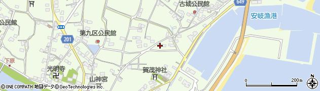 大分県国東市安岐町下原2261周辺の地図