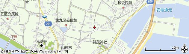 大分県国東市安岐町下原2269周辺の地図