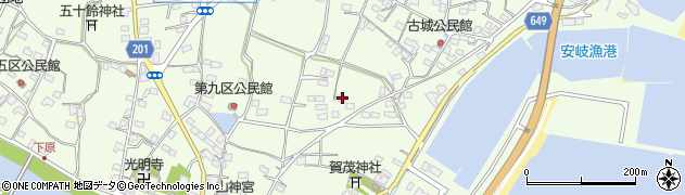 大分県国東市安岐町下原2268周辺の地図