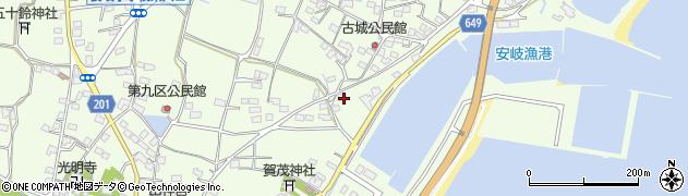 大分県国東市安岐町下原3169周辺の地図
