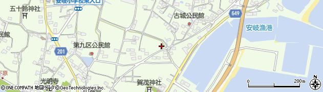 大分県国東市安岐町下原2214周辺の地図
