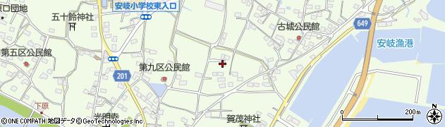 大分県国東市安岐町下原2188周辺の地図