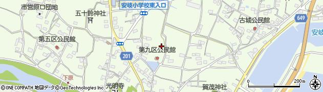大分県国東市安岐町下原2741周辺の地図