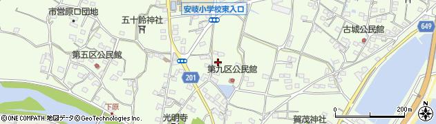 大分県国東市安岐町下原2163周辺の地図