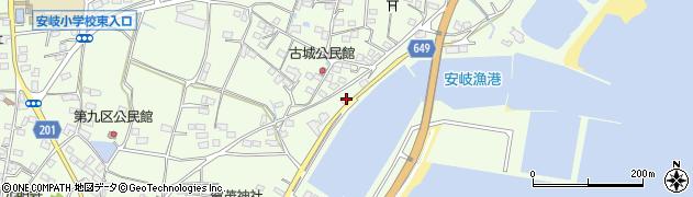 大分県国東市安岐町下原3162周辺の地図