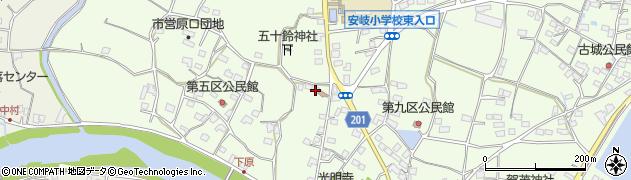 大分県国東市安岐町下原2585周辺の地図