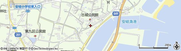 大分県国東市安岐町下原3156周辺の地図