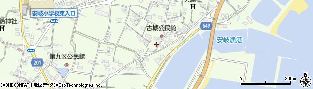 大分県国東市安岐町下原3065周辺の地図