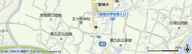 大分県国東市安岐町下原2116周辺の地図