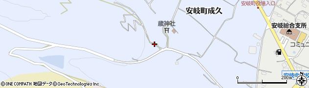 大分県国東市安岐町成久329周辺の地図