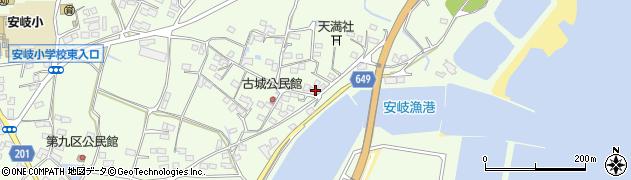 大分県国東市安岐町下原3073周辺の地図