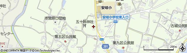 大分県国東市安岐町下原2095周辺の地図