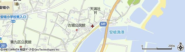 大分県国東市安岐町下原3071周辺の地図