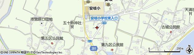 大分県国東市安岐町下原2122周辺の地図