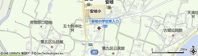大分県国東市安岐町下原2121周辺の地図