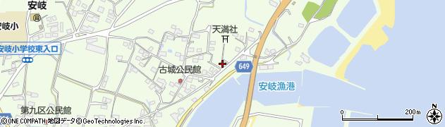 大分県国東市安岐町下原3106周辺の地図
