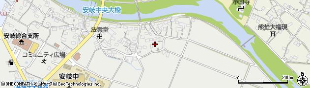 大分県国東市安岐町中園576周辺の地図
