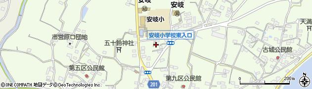 大分県国東市安岐町下原2139周辺の地図