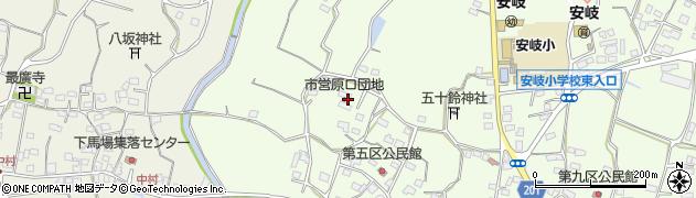 大分県国東市安岐町下原1918周辺の地図