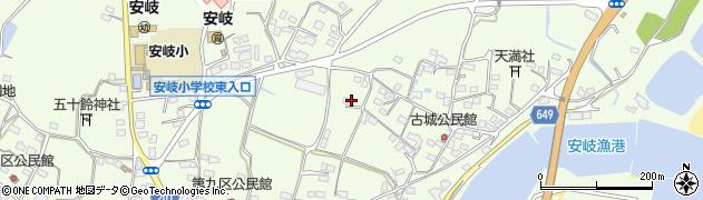 大分県国東市安岐町下原3015周辺の地図