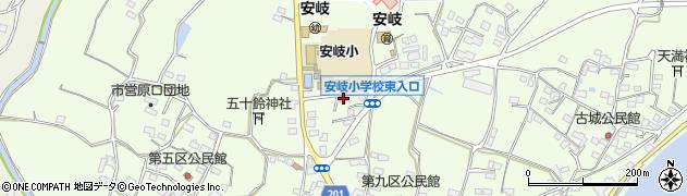 大分県国東市安岐町下原2086周辺の地図