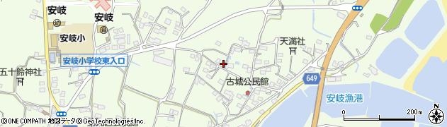 大分県国東市安岐町下原2991周辺の地図