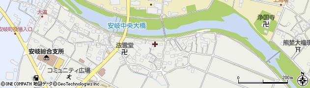 大分県国東市安岐町中園508周辺の地図