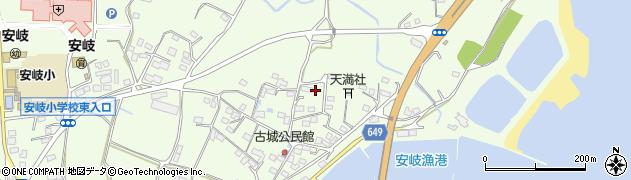大分県国東市安岐町下原3088周辺の地図