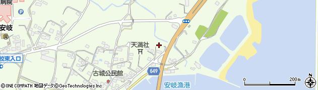 大分県国東市安岐町下原3122周辺の地図