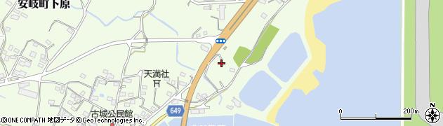 大分県国東市安岐町下原2774周辺の地図