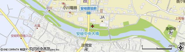 大分県国東市安岐町瀬戸田東小川周辺の地図