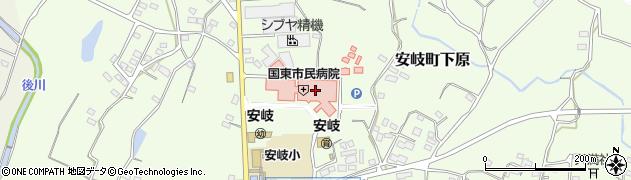 大分県国東市安岐町下原1456周辺の地図