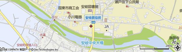 大分県国東市安岐町瀬戸田666周辺の地図