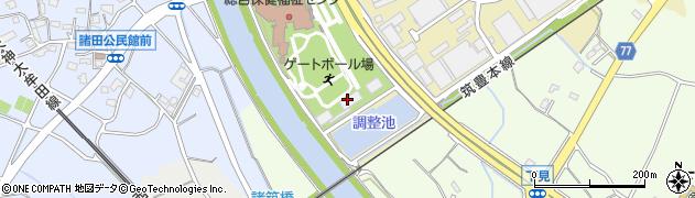 筑紫野市役所筑紫野市総合保健福祉センター 社会福祉協議会ホームヘルパー周辺の地図
