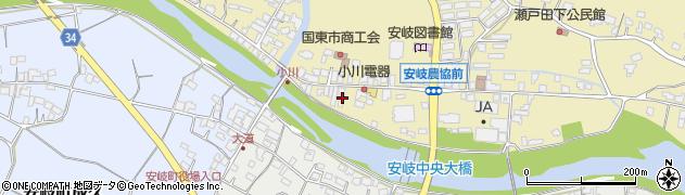 大分県国東市安岐町瀬戸田708周辺の地図